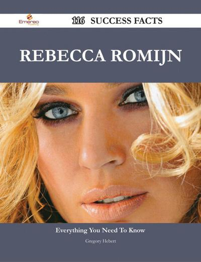 Rebecca Romijn 116 Success Facts - Everything you need to know about Rebecca Romijn