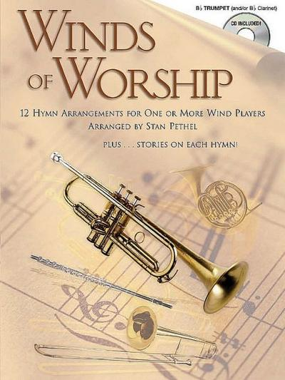 Winds of Worship (+CD) :for trumpet (clarinet)