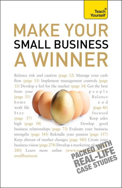 Make Your Small Business A Winner: Teach Yourself