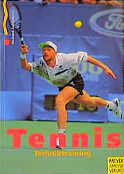 Tennis. Techniktraining.