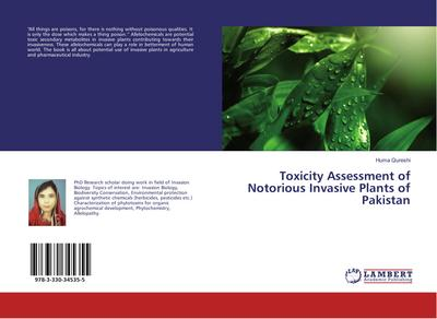 Toxicity Assessment of Notorious Invasive Plants of Pakistan