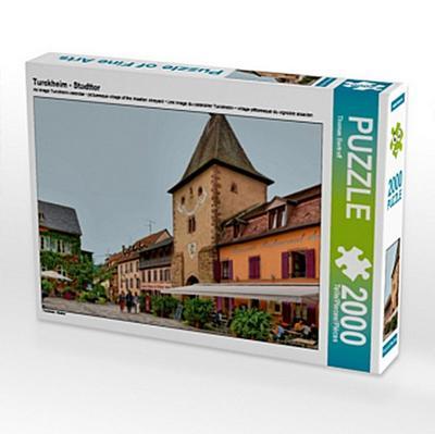 Turckheim - Stadttor (Puzzle)