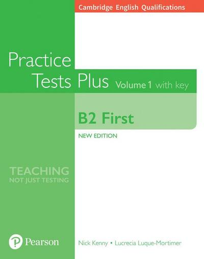 Cambridge English: First Practice Tests Plus with key