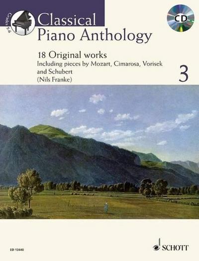Classical Piano Anthology, m. Audio-CD. Vol.3
