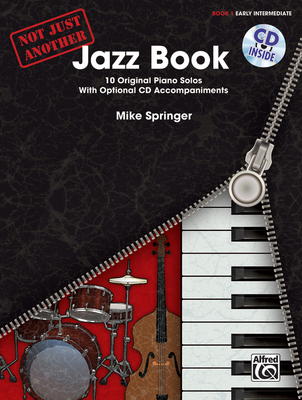 Not Just Another Jazz Book Volume 2  |  Klavier  |  Buch & CD Arr. Mike Spr ...