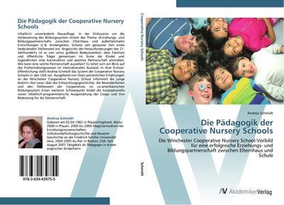 Die Pädagogik der Cooperative Nursery Schools