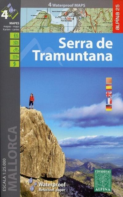 Serra de Tramuntana 1 : 25 000
