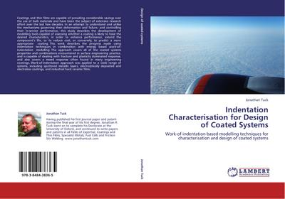 Indentation Characterisation for Design of Coated Systems