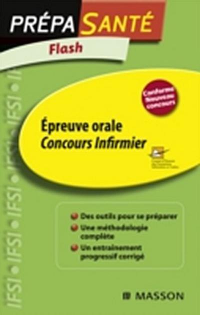 Flash Epreuve orale Concours infirmier