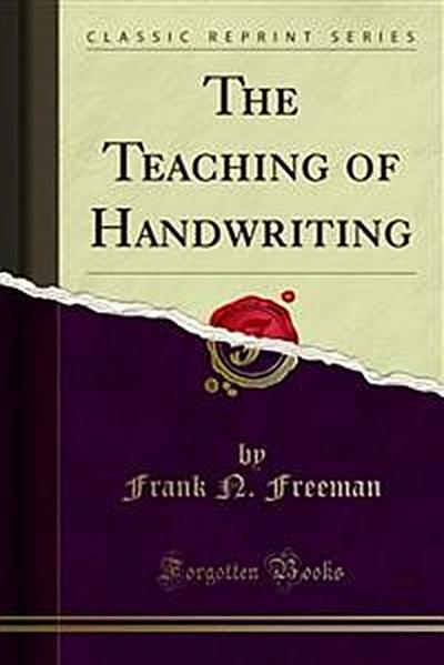 The Teaching of Handwriting