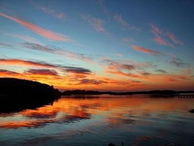 Sonnenuntergang Schweden - 2.000 Teile (Puzzle)