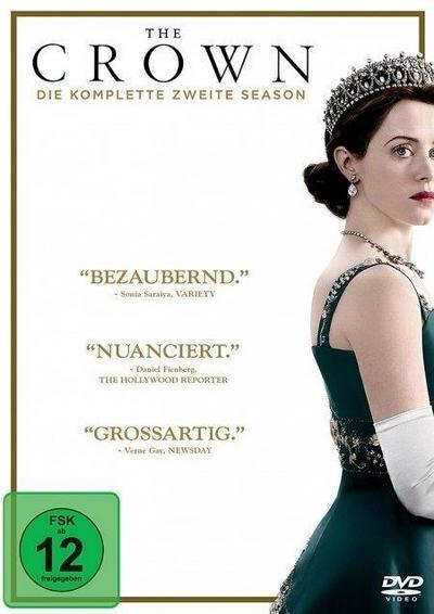 The Crown. Staffel.2, 4 DVD