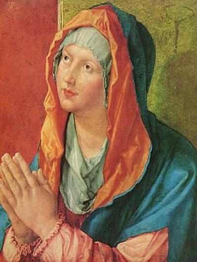 Albrecht Dürer - Betende Maria - 200 Teile (Puzzle)
