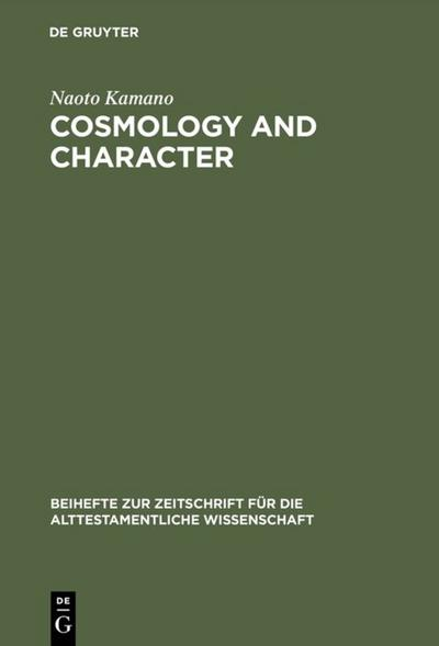 Cosmology and Character