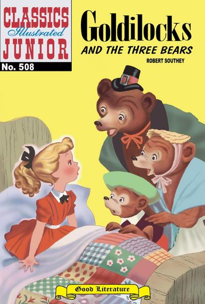 Goldilocks and the Three Bears (with panel zoom) - Classics Illustrated Junior