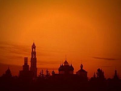 Sonnenuntergang Moskau - 500 Teile (Puzzle)