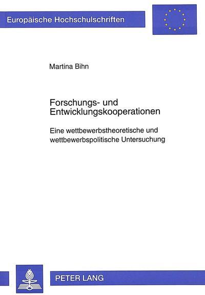 Forschungs- und Entwicklungskooperationen