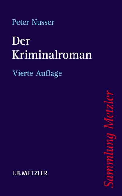 Der Kriminalroman