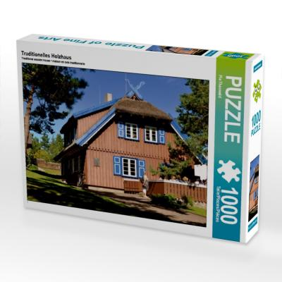Traditionelles Holzhaus (Puzzle)