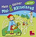 Mein kleiner Mal- & Rätselspaß. Märchen; Malbücher und -blöcke; Ill. v. Schmidt, Sandra; Deutsch; s/w