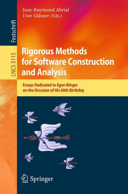 Jean-Raymond Abrial / Rigorous Methods for Software Construc ... 9783642114465