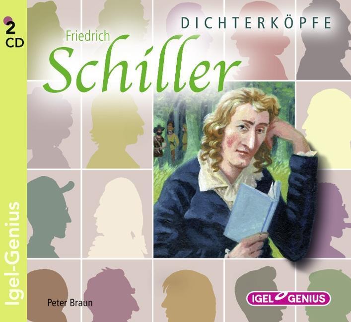 Dichterköpfe - Friedrich Schiller Peter Braun