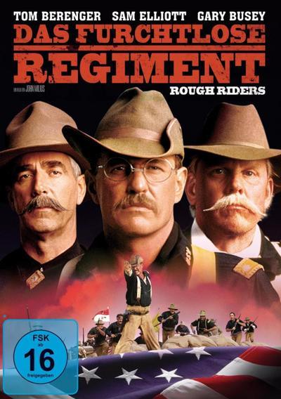 Das furchtlose Regiment - Rough Riders, 1 DVD