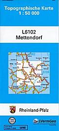 Mettendorf 1 : 50 000