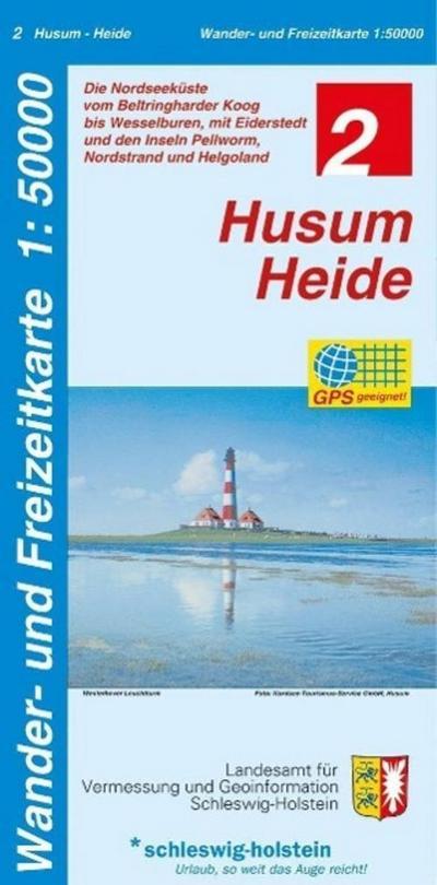 Husum - Heide 1 : 50 000