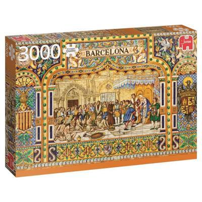 Fliesen aus Barcelona (Puzzle)
