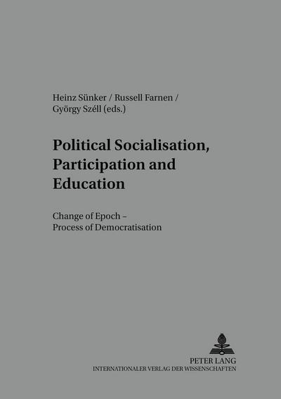 Political Socialisation, Participation and Education