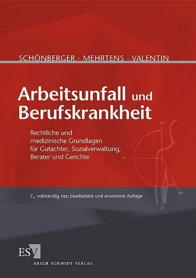 Arbeitsunfall und Berufskrankheit: Rechtliche und medizinische Grundlagen für Gutachter, Sozialverwaltung, Berater und Gerichte