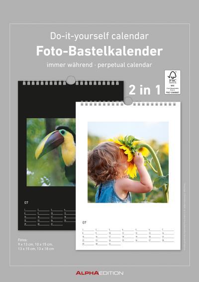 Foto-Bastelkalender