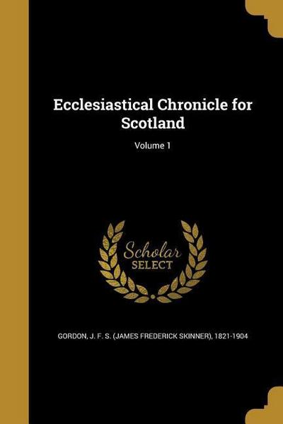 ECCLESIASTICAL CHRONICLE FOR S