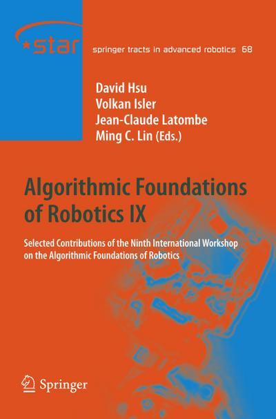 Algorithmic Foundations of Robotics IX