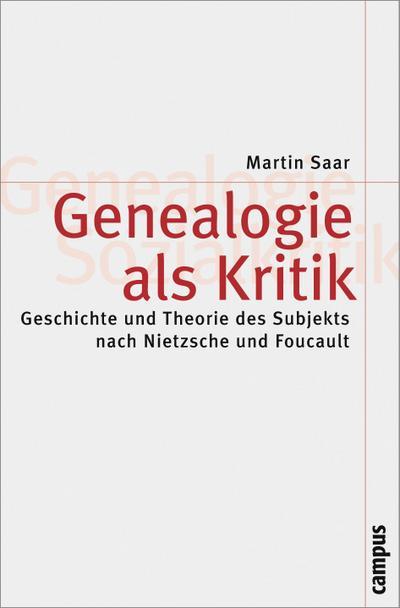Genealogie als Kritik