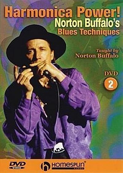 Harmonica Power!: Norton Buffalo's Blues Techniques