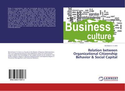 Relation between Organizational Citizenship Behavior & Social Capital