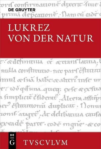 Von der Natur. De rerum natura