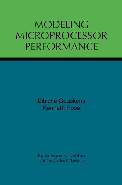 Modeling Microprocessor Performance