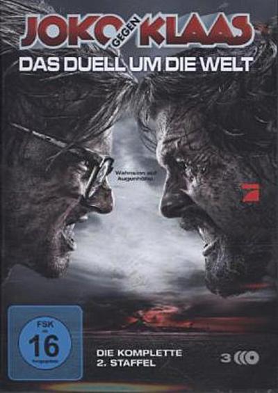 Joko gegen Klaas, Das Duell um die Welt. Staffel.2, 3 DVDs
