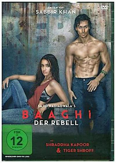 Baaghi - Der Rebell, 1 DVD