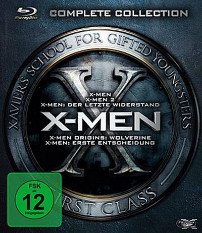 X-Men Complete Collection, 5 Blu-rays