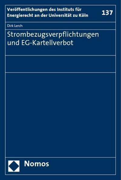 Strombezugsverpflichtungen und EG-Kartellverbot
