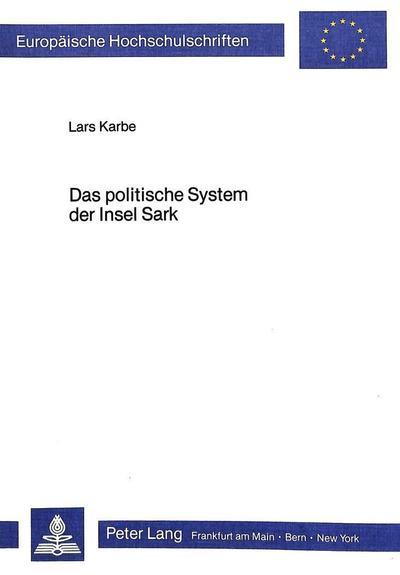 Das politische System der Insel Sark