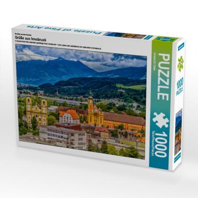Ein Motiv aus dem Kalender Grüße aus Innsbruck (Puzzle)