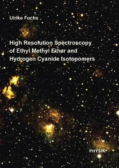 High Resolution Spectroscopy of Ethyl Methyl Ether and Hydrogen Cyanide Isotopomers