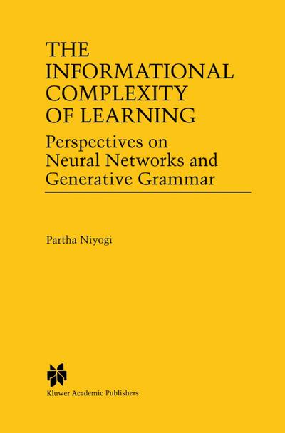 Informational Complexity of Learning
