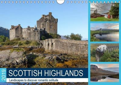 Scottish Highlands (Wall Calendar 2019 DIN A4 Landscape)