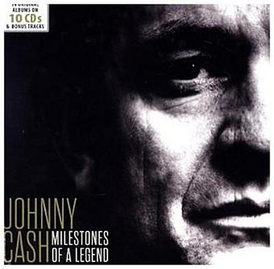 Milestones of a Legend, Johnny Cash - 18 Original Albums, 10 Audio-CDs